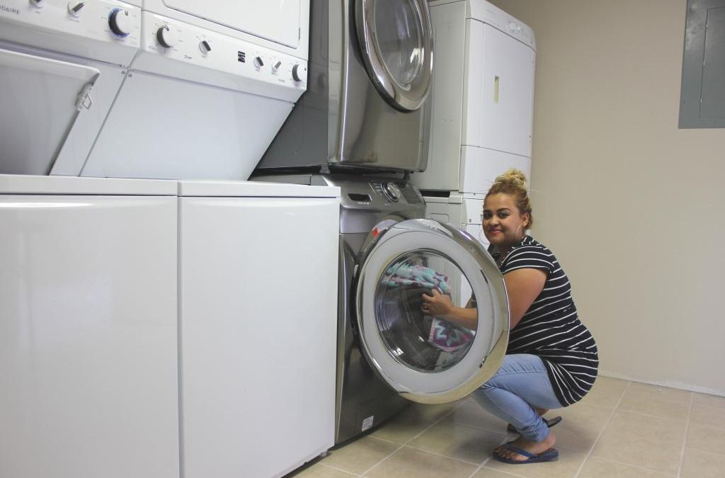 Grand Opening Of The New Laundry Room